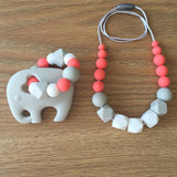 Beaded Silicone Teether
