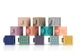 Silicone Building Blocks - set of 12
