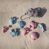 Scrunch Sand Moulds