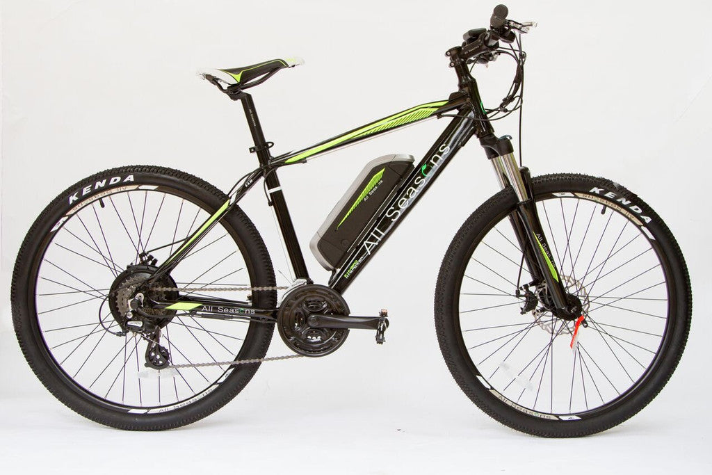 Electric mountain bikes from £995