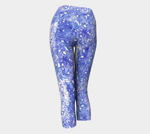Blue Lung Half Scale YOGA Capri