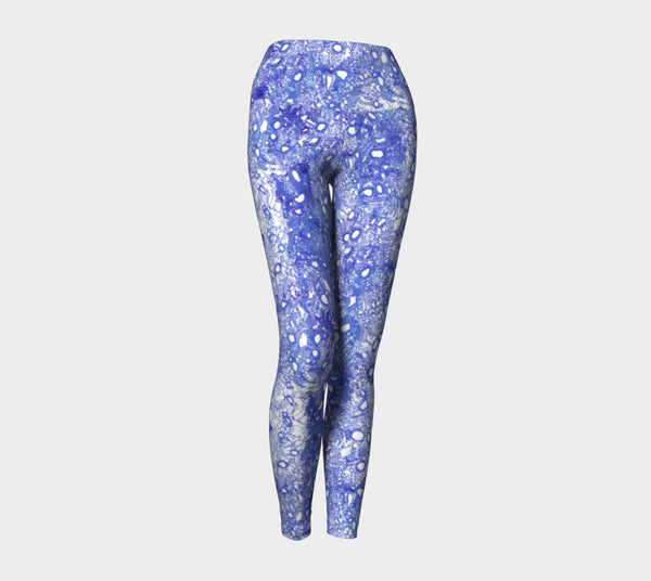 Blue Lung Half Scale YOGA legging