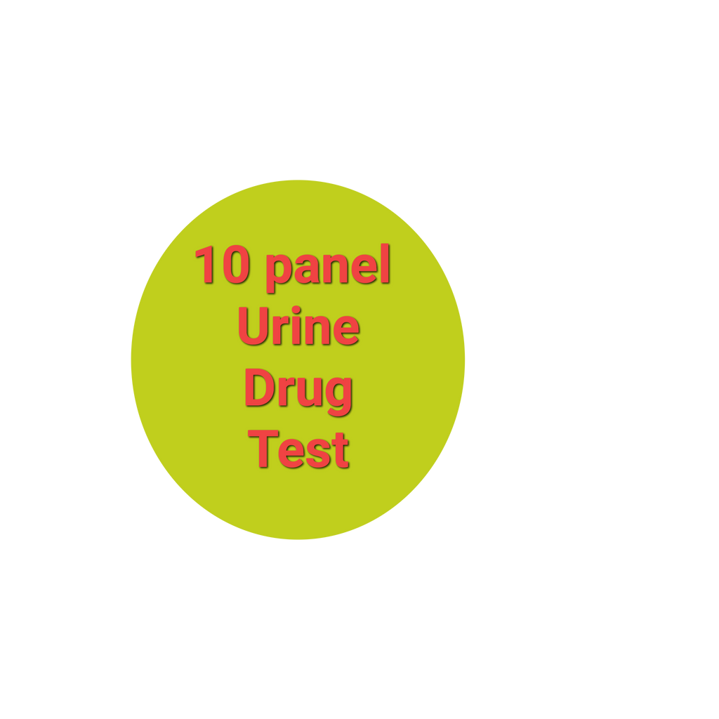 Ten Panel Urine Lab Drug Test