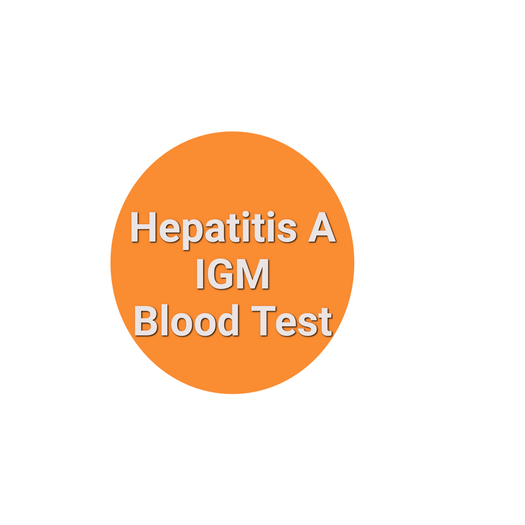 Hepatitis A IGM Blood Test