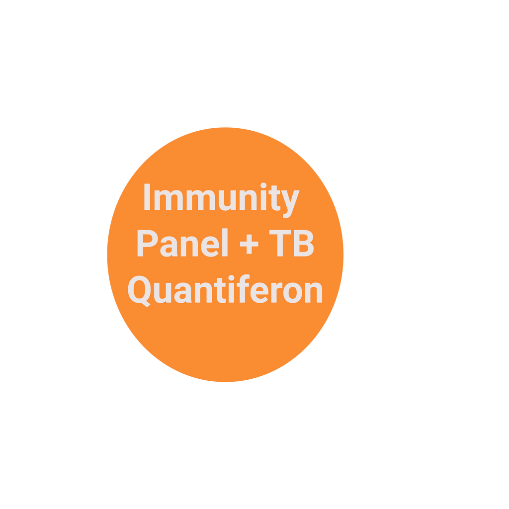 Immunity Panel +  TB Blood Quantiferon Gold