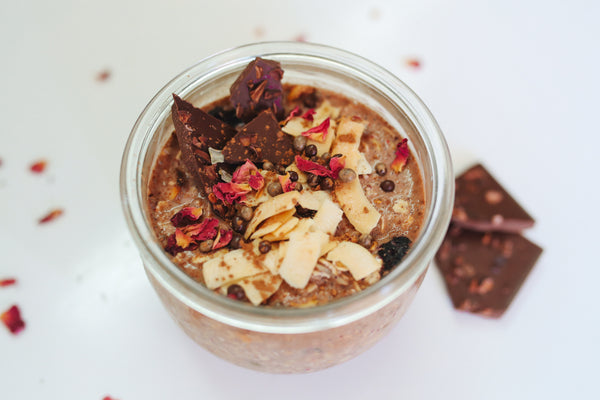 Chaga Chocolate Pudding