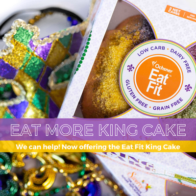 Eat Fit King Cake
