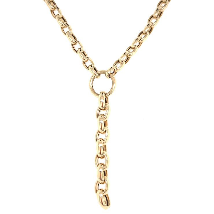 Belcher Chain - Y necklace - Lexie Jordan Jewelry