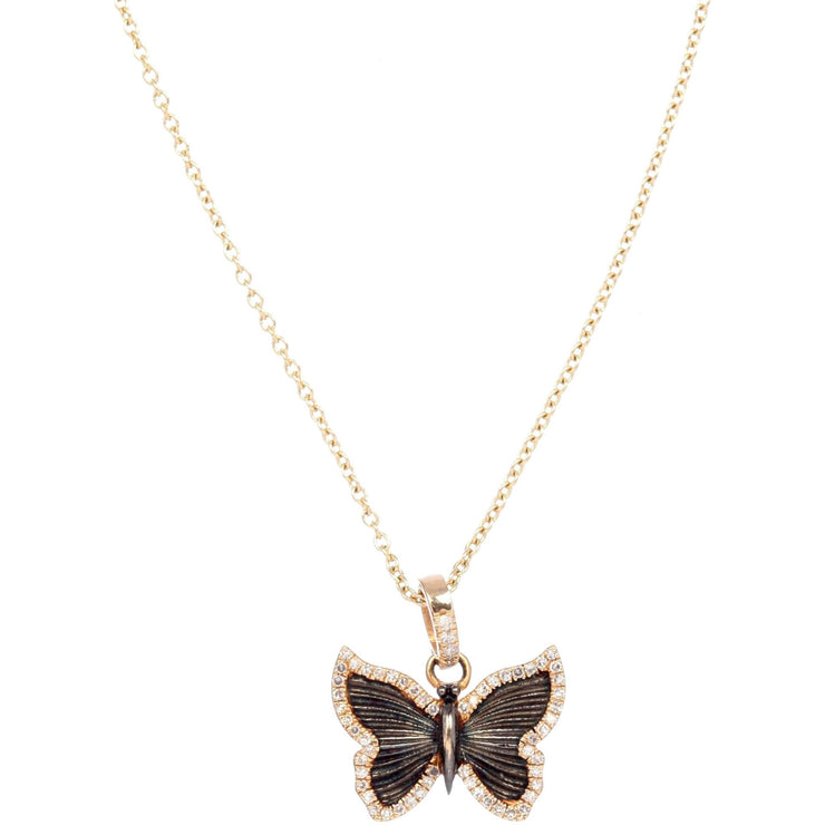 Gold Butterfly Necklace - Lexie Jordan Jewelry