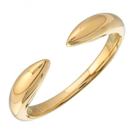 Gold claw ring solid 14K - Lexie Jordan Jewelry