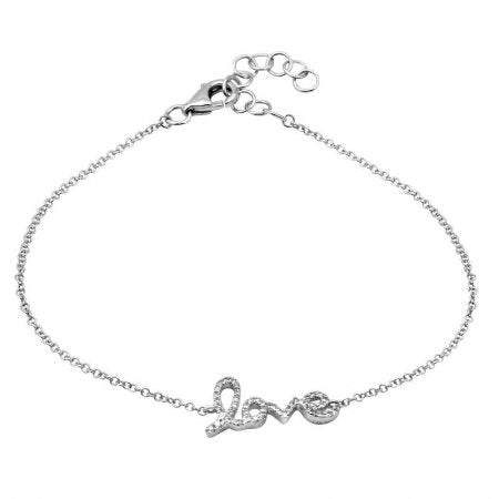 Love Diamond Bracelet - Lexie Jordan Jewelry