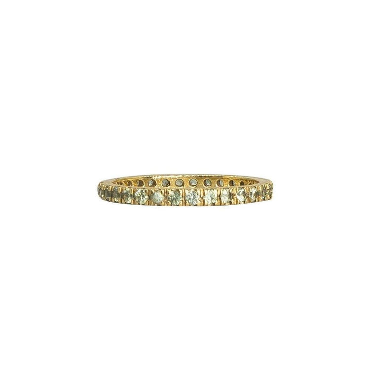 Multi-Color Stacking Eternity Bands | Gold | Precious Gemstones - Lexie Jordan Jewelry