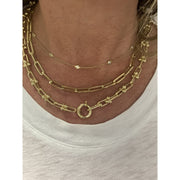 U Link Chain | 14 K Gold - Lexie Jordan Jewelry