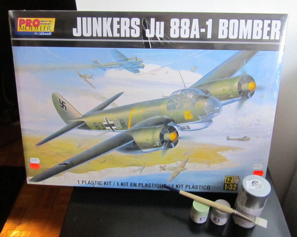 Revell 1/32 Ju 88A-1 build