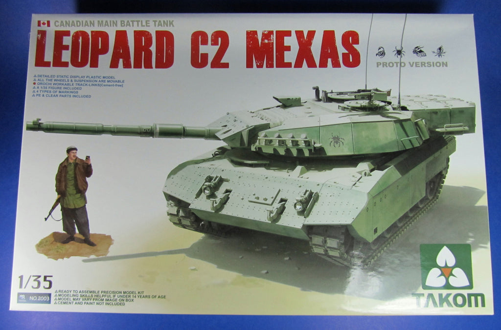 Takom 1/35 Leopard C2 Mexas build