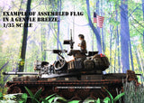 North Vietnamese and Viet Cong Flags - 1/72, 1/48, 1/35, 1/32 Scales - Duplicata Productions
