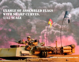 Flags of Romania - Cold War - 1/72, 1/48, 1/35, 1/32 Scales - Duplicata Productions
