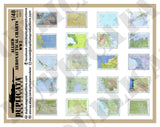 Allied Aeronautical Charts - WW2 - 1/48 Scale - Duplicata Productions