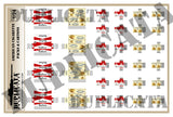 American Cigarette Packs & Cartons - 1/24 Scale - Duplicata Productions