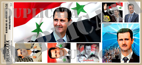 Assad Portraits, Syrian Civil War - 1/35 Scale - Duplicata Productions