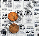 South Vietnamese Election Posters - Vietnam War - 1/35 Scale (2 Sheets) - Duplicata Productions