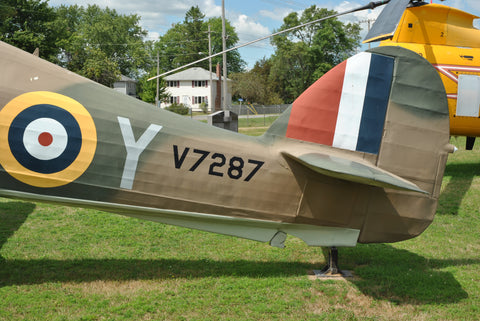 Hawker Hurricane Mk II reference walkaround