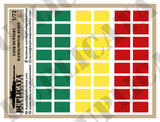 Tank Gunnery Range / Signal Flags - 1/72 Scale - Duplicata Productions