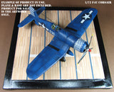 Aircraft Display Base Artwork - Essex Class Carrier Deck - 1/72 Scale - Duplicata Productions