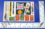 Gas Station Signs - Vietnam War - 1/35 Scale (2 sheets) - Duplicata Productions