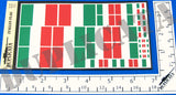 Italian Flags - 1/72, 1/48, 1/35, 1/32 Scales - Duplicata Productions