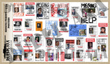 Modern Missing Person Posters  - 1/24 Scale (2 sheets) - Duplicata Productions