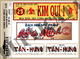 Store Signs #1 - Vietnam War - 1/35 Scale (2 sheets) - Duplicata Productions