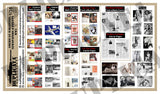 American Magazines, Newspapers & Pin-Ups -  WW2 - 1/35 Scale - Duplicata Productions