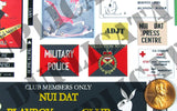 Australian Base Signs, Nui Dat - Vietnam War - 1/35 Scale (2 sheets) - Duplicata Productions