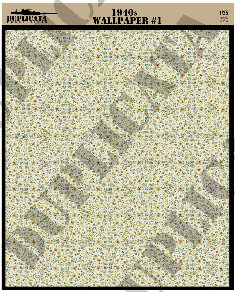 1940s Wallpaper 1 1 35 Scale