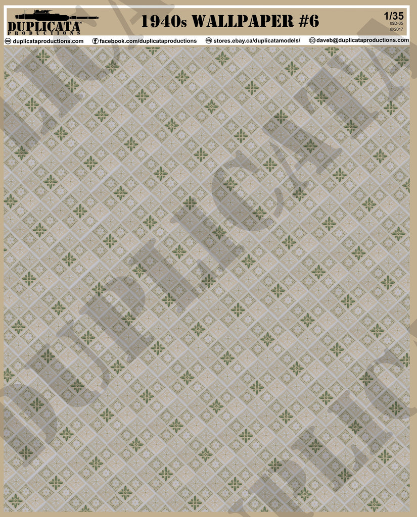 1940s Wallpaper 6 1 35 Scale