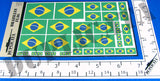 Brazilian Flag - 1/72, 1/48, 1/35, 1/32 Scales - Duplicata Productions