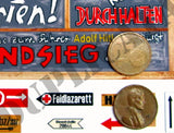 German Road Signs, Eastern Front #2 -  WW2 - 1/48 Scale - Duplicata Productions