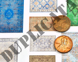 Old/Faded Rugs #1 - 1/72 Scale - Duplicata Productions