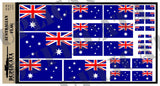 Australian Flag - 1/72, 1/48, 1/35, 1/32 Scales - Duplicata Productions