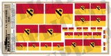 1st Cavalry Division Flags - 1/72, 1/48, 1/35, 1/32 Scales - Duplicata Productions