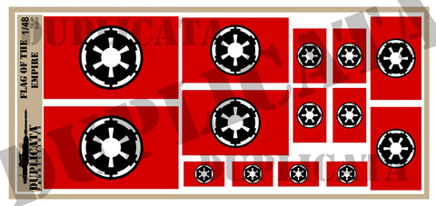 Flag of The Empire - 1/48 Scale - Duplicata Productions