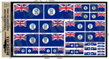 Flag of the Falkland Islands - 1/72, 1/48, 1/35, 1/32 Scales - Duplicata Productions