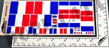 Flag of France - 1/72, 1/48, 1/35, 1/32 Scales - Duplicata Productions