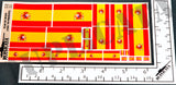 Flag of Spain (1981 - Present) - 1/72, 1/48, 1/35, 1/32 Scales - Duplicata Productions