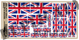 British Flag 'Union Jack' - 1/72, 1/48, 1/35, 1/32 Scales - Duplicata Productions