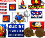 French Advertisements, Small #1 -  WW2 - 1/35 Scale - Duplicata Productions