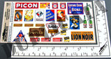 French Advertisements, Small #2 -  WW2 - 1/35 Scale - Duplicata Productions