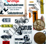 German Road Signs, Eastern Front #1 -  WW2 - 1/48 Scale - Duplicata Productions
