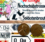 German Road Signs, Eastern Front #1 -  WW2 - 1/35 Scale - Duplicata Productions